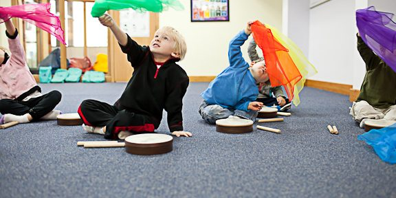 Kindermusik Big Kids class