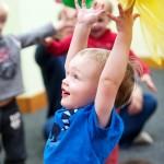 Kindermusik toddler class