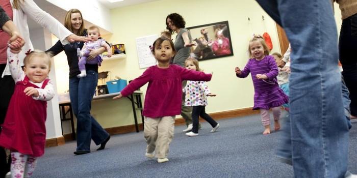 Kindermusik Family class experience