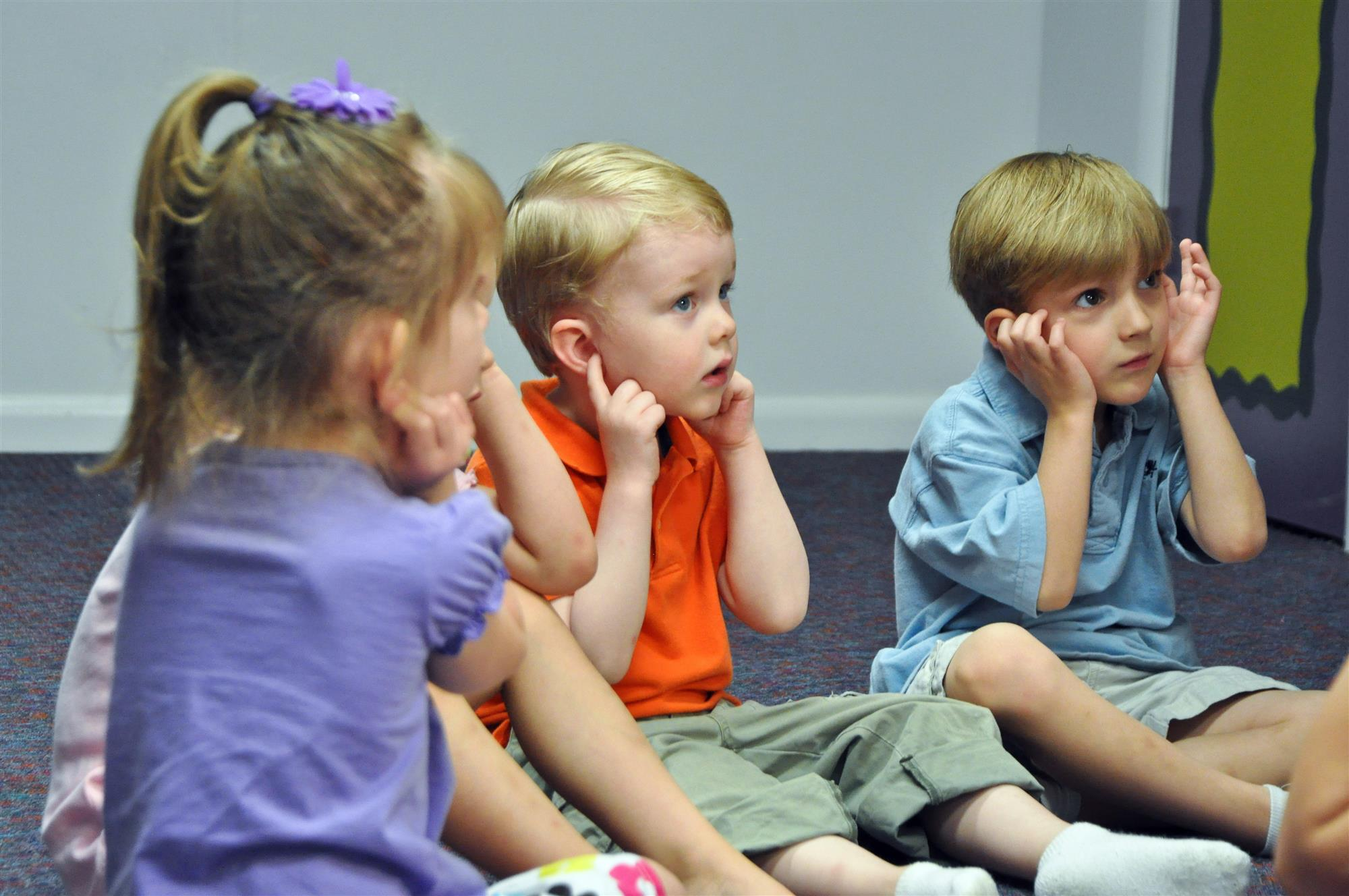 Kindermusik preschool class